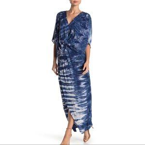 Young Fabulous & Broke blue tie dye Siren dress